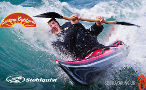 Preseason pricing on our Drysuits and PFD's by Stohlquist