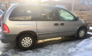 1999 Plymouth Voyager, Selling For Parts/Fix Up