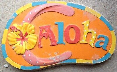 Flip Flop Aloha Stepping Stone Concrete Molds, plaster mold, mould