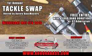Aurora Bass Masters fishing tackle swap meet and sale