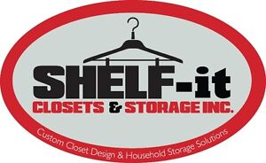 Closet and storage solutions design and installation Kawartha Lakes Peterborough Area image 1