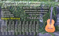 Spanish Guitar Lessons in Richmond
