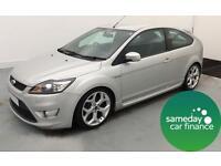 £171.45 PER MONTH SILVER 2008 FORD FOCUS 2.5 ST-3 3 DOOR PETROL MANUAL