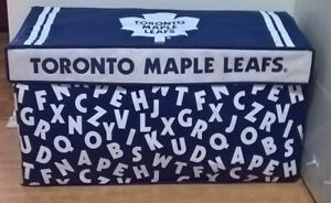 Toronto Maple Leafs Fabric collapsible Toy Box