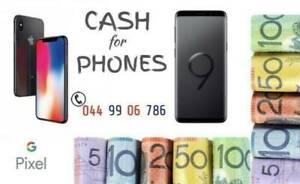 WANTED: Top$$$ on spot cash for Phones iphones samsung macbook ipad