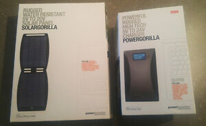 Off the grid battery +solar pack