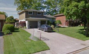 close to Niagara college welland,one bedroom on 2 floor for rent