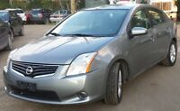 2011 Nissan Sentra, 60,000KM, $7,900, Warranty- Price REDUCED