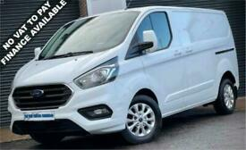 2019 Ford Transit Custom LIMITED L1 280 SWB 2.0 130 BHP PANEL VAN Diesel Manual