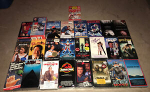 New & Sealed VHS Movies Comedy Horror Drama 80's 90's