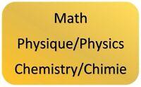 Tuteur Math Physique Chimie Tutor Math Physics Chemistry