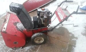 snow blower for parts or repair
