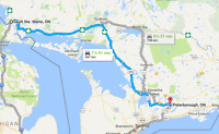 Ride from Peterborough/TO area to Sault Ste Marie Feb 16th-25th