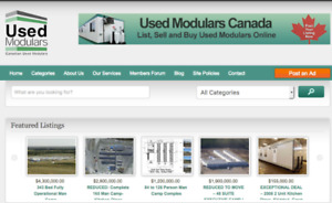 USED MODULARS CALGARY- Buy and Sell Used Modulars Online