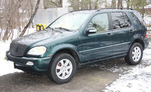 2002 Mercedes-Benz M-Class SUV, Crossover