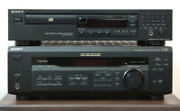 SONY AV Receiver + CD Player