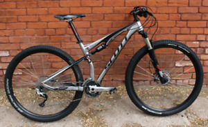 2012 Scott Spark Elite 29er full suspension with dual lock-outs