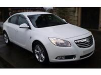 £150.39 PER MONTH WHITE 2011 VAUXHALL INSIGNIA 2.0 SRI DIESEL AUTO WITH NAV