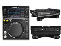 Pioneer XDJ 700 (pair) with decksaver covers