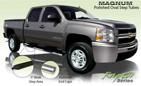 "5"" Stainless Side Steps - 07-15 Chev/GMC - Extended Cab"