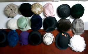 Vintage clothing and hats. Hundreds of items in this post.