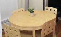 Dining set / Ensemble table et chaises - IKEA BJURSTA