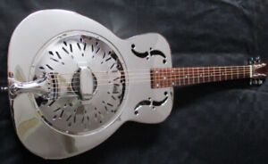 Resonator Guitar Vintage 70s Japan, Fishman Pickup