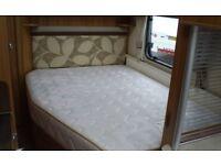 SWIFT CONQUEROR 570 2012 4 berth caravan fixed bed motor mover bike rack