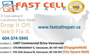 Fast Cell Repair Announced New Location at (City Square Mall)