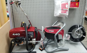 TITAN AIRLESS SPRAY PAINT MACHINES BRAND NEW WITH WARRANTY