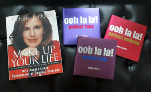 4 NEW  Makeup & Beauty Books for $15