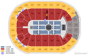J.Cole 4 Your Eyez Only Tour 2Tix CENTER STAGE Lower Bowl 117