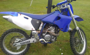 2001 Yamaha Yz250F 1 tank ran on full rebuild