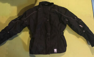 Women's Motorcycle Jacket and Boots