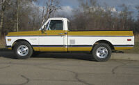 1971 Chevy C20 Pick- Up Excellent Condition with Solid Body