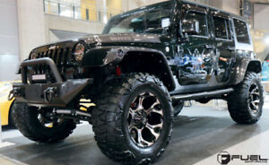 JEEP RIMS AND TIRES PLUS LIFT KITS (WE DO FINANCING AS WELL)
