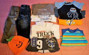 Boy's clothes 1 year old, Guess, Puma, etc