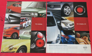 2006 NISSAN ALTIMA AD WITH HISTORIC DATSUN 510 240Z VINTAGE CARS