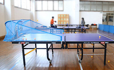 Used, Super Emperor Table Tennis Robot/Machine w/Net, 100 training balls, Auto reload for sale  Shipping to Canada