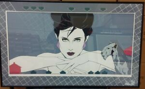Price Reduced- Park Place by Artist & Illustrator Patrick Nagel