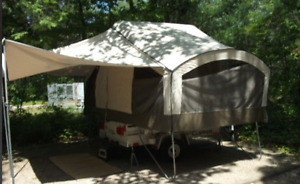 2013 Coachman Clipper Express camper only weighs 450 lbs