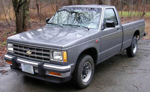 WANTED: SOUTHERN S10 CAB