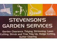 Stevenson's garden sevice