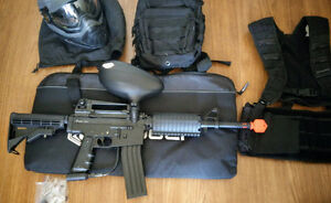 Spyder MRX Paintball Gun + Proto Mask + MORE