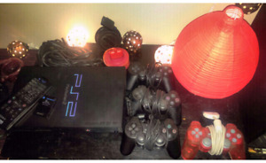 Ps2 consoles, controllers, cables etc