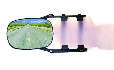 2 Caravanspiegel, Wohnwagenspiegel, Aufsetzspiegel, f. Van, PKW und Kleinlaster