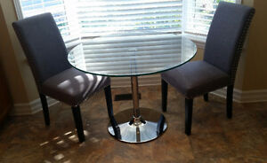 3-piece bistro set - new. $295