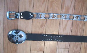 BRAND NEW LEATHER BELTS