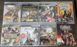 PS3 Games For Sale - $10 Each