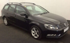 2013 VW PASSAT ESTATE 1.6 TDI S GOOD / BAD CREDIT CAR FINANCE AVAILABLE